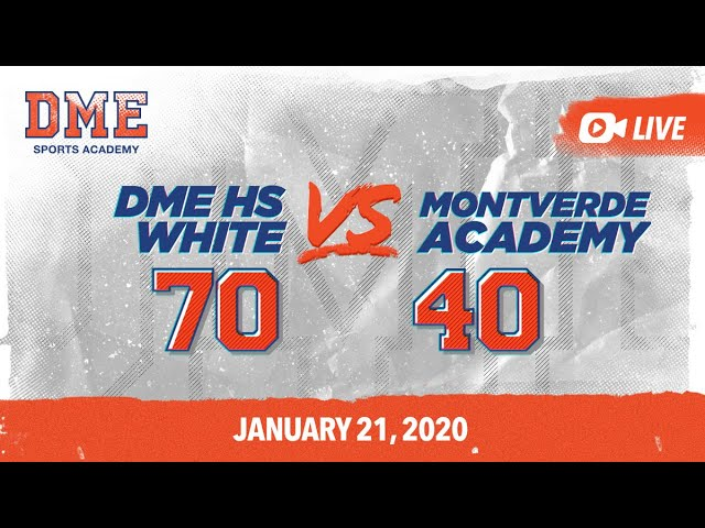 DME HS White vs Montverde