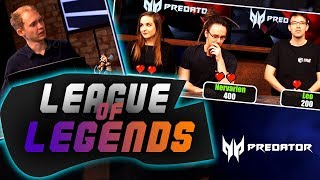QUIZ LEAGUE OF LEGENDS!