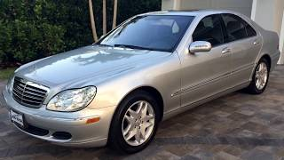 2006 Mercedes-Benz S350 for sale by Auto Europa Naples MercedesExpert.com