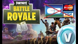 HOW to buy V-BUCKS (COMBAT PASS) WITHOUT BANK CART #Fortnite TUTO