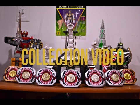 Power Rangers Collection Video - 100th Video And 1k Subscribers!