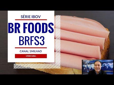 SADIA PERDIGÃO BRFOODS BRASIL FOODS BRFS3