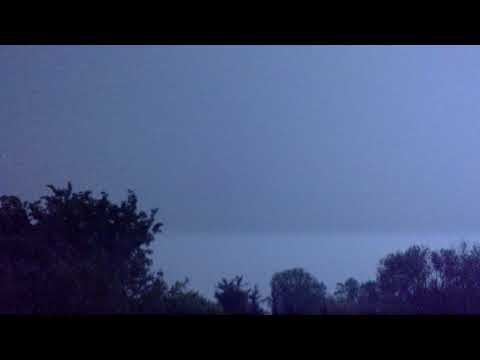 Lightning Flashes Across the Sky Causing Many Colors   May 16th 2019 10:29  pm