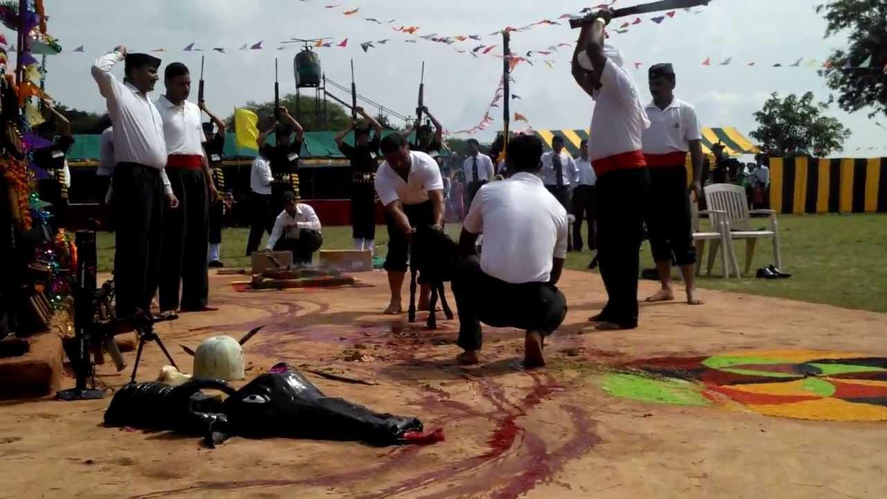 2 Kumaon Lucknow Kali Maata Pooja Bali Youtube