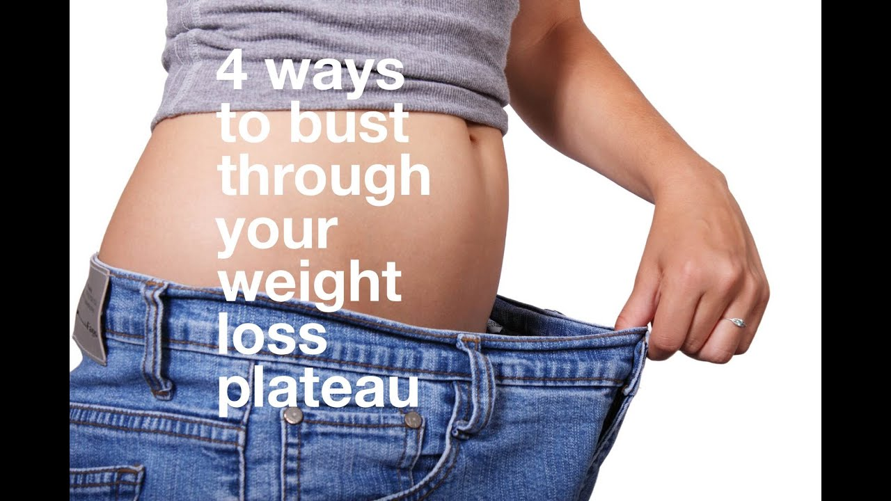 4 Ways to Bust Through Your Weight Loss Plateau - YouTube