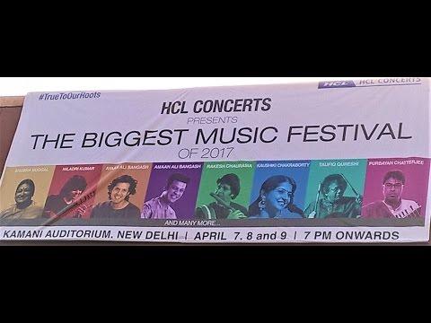 HCL Concerts Amaan & Ayan Ali Bangash Sarod performance