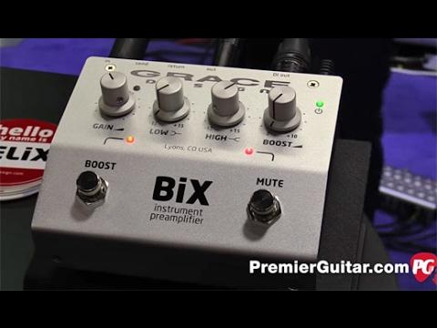 NAMM '17 Grace Design BiX Instrument Preamplifier Demo