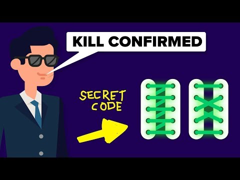 CIA Spy Techniques: The Shoelace Code and Other Secret Spy Techniques
