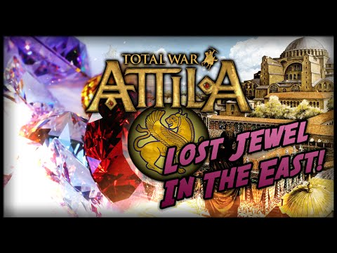 Total War: Attila - Gameplay ~ The Sassanid Empire - Lost Jewel In The East!