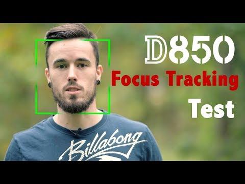 Nikon D850 4K Focus Tracking Test