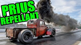 "Smokin' Diesel Turbo RAT ROD Pickup - ""BURNIE"""