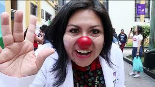 Peruano del día: la noble labor de Sara Castro y 'Payasos de emergencia'