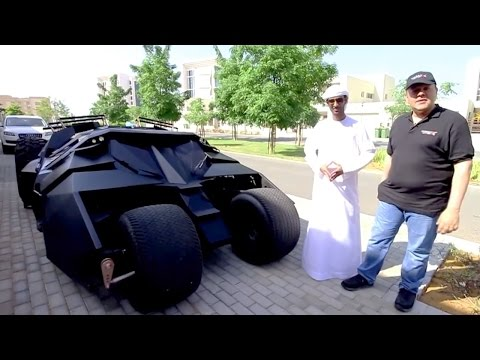 Batman Cars Dubai