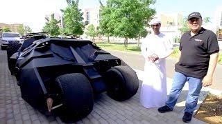 تجربة سريعة سيارة باتمان - حسن كتبي و قناة فالكون  دبي