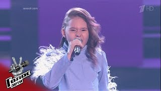 "Varvara Glukhova. ""Mom, I'm dancing"" - Blind auditions - The Voice Kids Russia - Season 7"