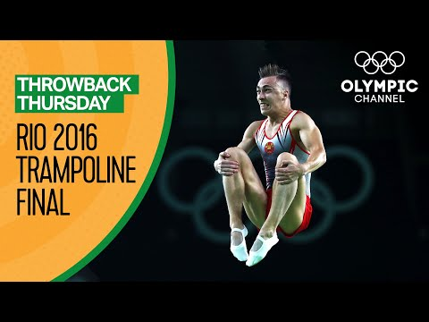Men's Individual Trampoline Final - Rio 2016 Replays | Throwback Thursday