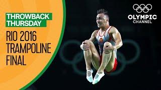Men's Individual Trampoline Final - Rio 2016 Replays   Throwback Thursday