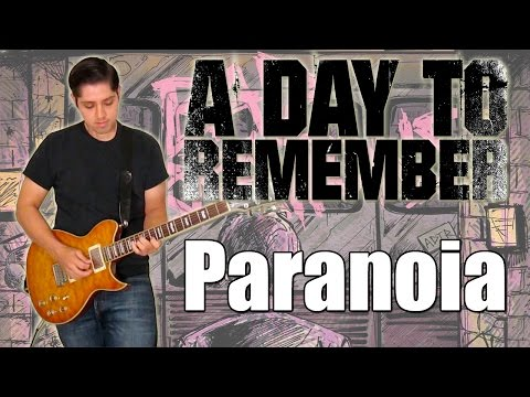 A Day To Remember - Paranoia (Instrumental)