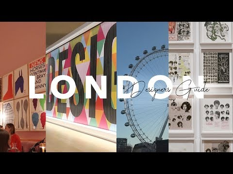 Graphic Designer's Guide To London | Paola Kassa