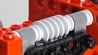 Testing Lego Worm Gear HIGH TORQUE Performance