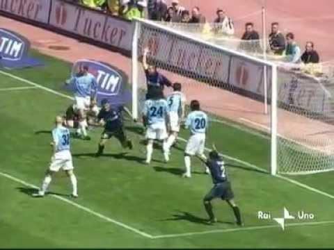 5 Maggio 2002 Lazio Inter 4 2 Ultima Giornata Youtube