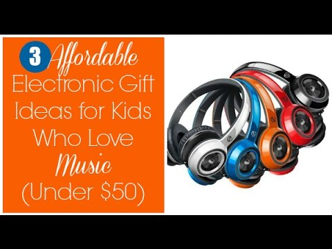 3 Affordable Electronic Gift Ideas for Kids Who Love Music (Under $50)