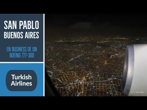 Turkish - San Pablo Buenos Aires | Boeing 777 - business