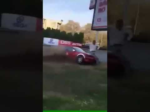 Crash at Skopje race 2017 / Sudir na Skopje Krug 2017 trki / Судир на Скопје Круг 2017