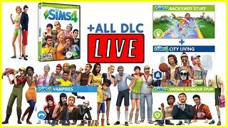 The Sims 4 ALL DLC