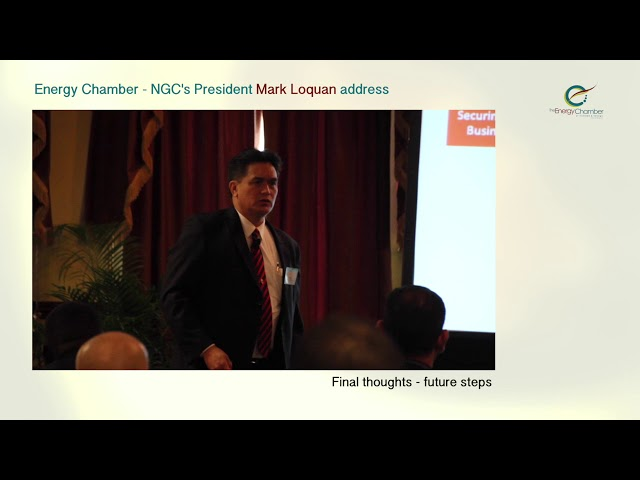 NGC President, Mark Loquan's Feature Address at TT Energy Chamber (Part 06 of 06)