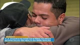 Flávio Donizete fala sobre como iniciou o uso das drogas