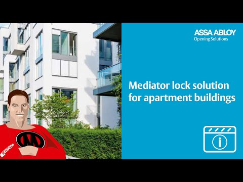 MEDIATOR lock solution for apartment buildings - YouTube - photo#2