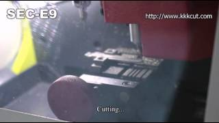SEC-E9 Automatic Key Cutting Machine--How to use the key code to cut a new key