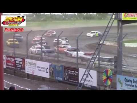 Jamestown Speedway Bomber A-Main (6/22/19)