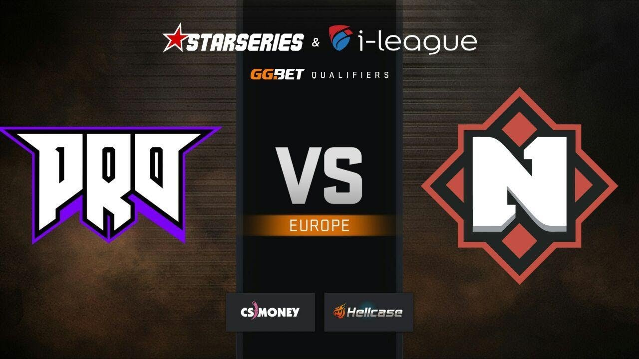[EN] Nemiga vs pro100, map 1 Dust2, StarSeries & i-League S7 GG.Bet EU Qualifier