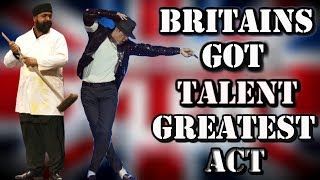 BRITAINS GOT TALENT - MICHAEL JACKSON AUDITION TRIBUTE (SULEMAN MIRZA / SIGNATURE)