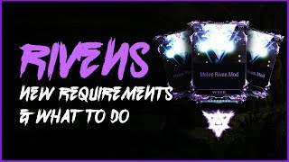 WARFRAME  ||  RIVEN MODS Changes & Tips For New Players