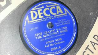78 RPM: Count Basie & his Orchestra - Stop Beatin