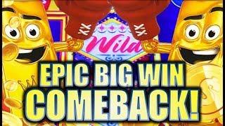 ★EPIC BIG WIN COMEBACK!!★ 🤩 GOLD BONANZA Slot Machine Bonus (Aristocrat)