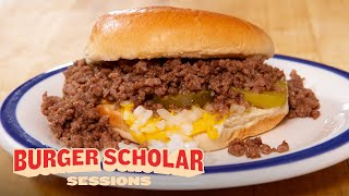How to Cook a Loose Meat Sandwich with George Motz | Burger Scholar Sessions