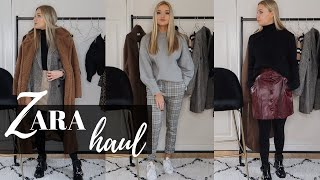 ZARA HAUL & TRY ON | WINTER WARDROBE REFRESH