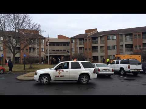 Fire at Flint apartment complex