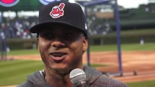 Beisbolista dominicano de los Indios de Cleveland recuerda paso por Ecuador