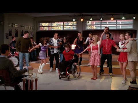 GLEE  My Life Would Suck Without You Full Performance HD