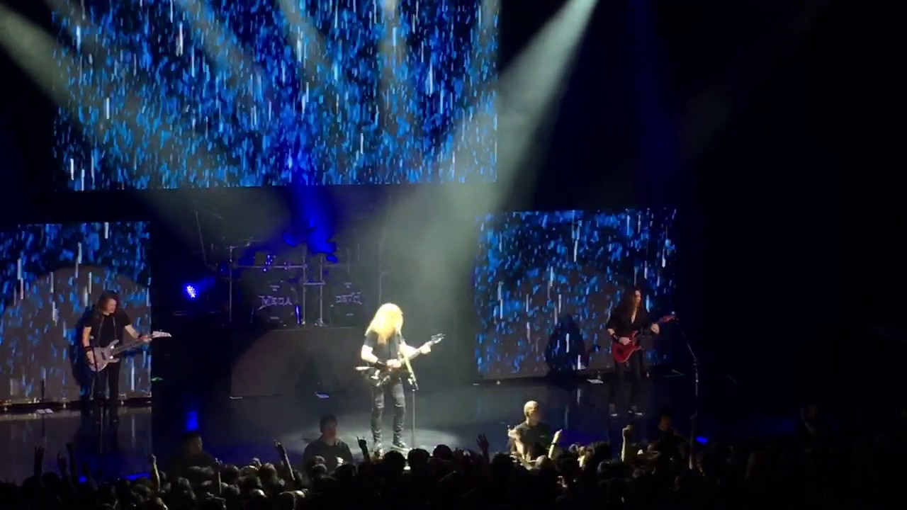 megadeth tornado of souls live in tokyo dystopia world tour 19may2017 youtube. Black Bedroom Furniture Sets. Home Design Ideas