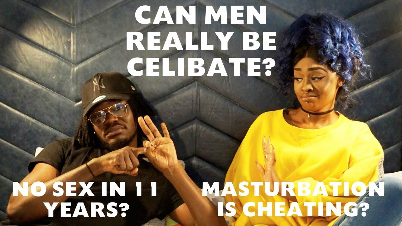 Do celibate men have sex