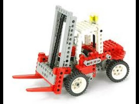 Lego Technic 8835 Forklift Instructions Year 1989 Youtube