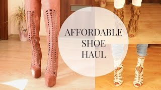Affordable Shoe Haul  2016