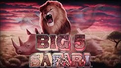 Big 5 Safari™ Video Slots by IGT - Game Play Video