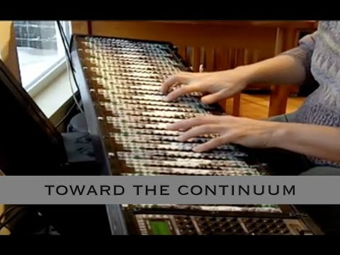 'Toward The Continuum'  Microtonal Composition By Dolores Catherino